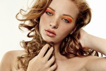 Tangerine Makeup / by Amber Norell