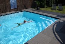 Waterpret / Bij onze zwembaden staan we voor: Een beter bad met minder onderhoud.  Kortom veel zwemplezier