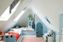 Kinderzimmer dach