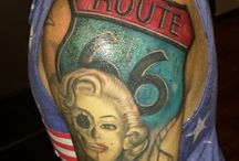 Tattoo fashion / Route 66 tattoo