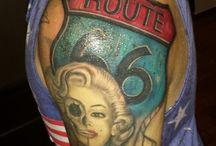 Tattoo fashion / Route 66 tattoo
