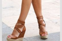 wedges chaussures