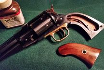 "Custom 1858 Remington .44 / /45 Conversion 5.5"" / Custom 1858 Sheriff model 5.5"" Remington Army .44 Caliber Percussion"