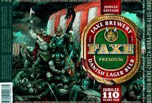 Faxe beer fantasy cans