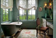Salle de bain tendance / Tout sur la salle de bain, la salle de bain contemporaine, industrielle, petit ou grand format