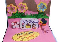 Paper Craft / Inside the Teachers Day greeting card