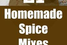 Homemade seasonings / spices
