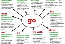 English phrasal verbs.