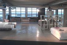 Showroom Amsterdam-IJburg / Showroom with eco (luxury) beds