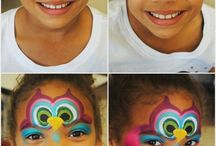 Step by step, Facepaint