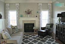Living Room Ideas / by Genelle Cunningham Gardner