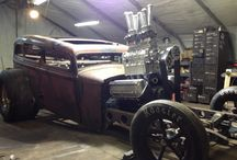 Rat Rods and Nostalgic Hot Rods / Some of the best images we have posted on our facebook page.