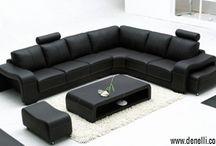 Denelli's Designer Corner Sofas / Collection of Denelli's beautiful Designer Sofas