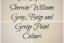 the best gray,beige and greige paint colour