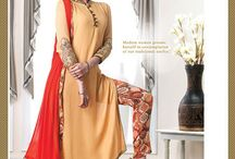 Wholesale Ethnic Collection for Valentine 2016 / Online Wholesale Ethnic Red Sarees, Red Gowns Catalog Collection for Valentine 2016