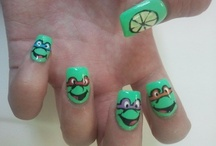 Nails! / Nails i wish i could have but i'm not talented enough to do them. / by Heather Hunter