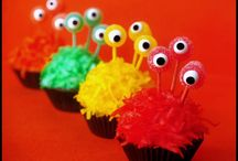 Cupcakes - Monsters