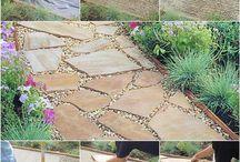 giardino e piante e fiori