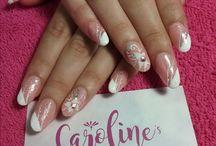 Caroline's nail portfolio / Nail designs by Caroline's Spa & Goods