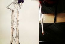 Fashion sketches / Fashion sketches, ideas ,editorials