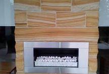 Stone Fireplace / Australian Stone Supplier  www.aussietecture.com.au