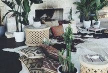 marble and concrete theme