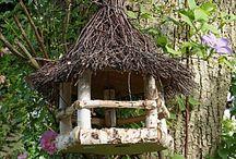 Fuglemater/hus