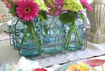 Table settings in color and cleverness
