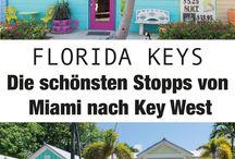 ● FLORIDA ● / Reisen und Urlaub in Florida. Sehenswürdigkeiten, Highlights und die besten Strände.