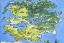 Maps/Cartography Concept