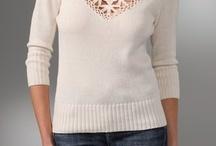 hačkovaný sveter