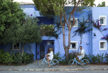 "Blue Rides / Bluegr Hotels & Resorts in Crete from this year on, offer you ""Blue Rides""! Through this unique feature any guest can take one of our blue bikes for a stroll to the town of Agios Nikolaos or to visit and explore more areas close by! http://goo.gl/vW39z0"