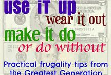 Frugal Tips / by Gillian C.