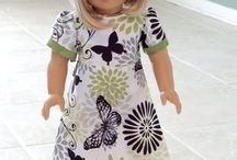 doll clothes / by Sandy Ames