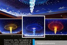 Żyrandole Światłowodowe E-technologia / Przedstawiamy projekty, w których wykorzystano żyrandole światłowodowe firmy e-technologia