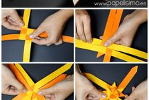 Origami - hvězda