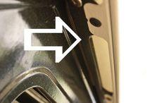 Cleaning / Oven door glass