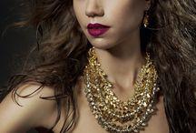 Necklaces / Necklaces by British jewellery designer Alice Menter.