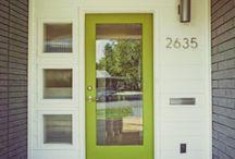 front doors / by Lisa Bond