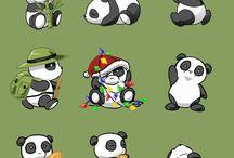 Mix Panda Bear Tat