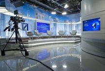 TV Broadcast Set Design / TV Broadcast Set Design
