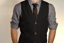 colete + camisa