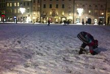 Meanwhile in Krakow / Pictures of kids and pictures of Krakow