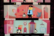 Game illustration / by Josh Cleland