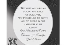 Ideas for vow renewal