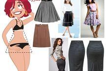 одежда для грушевидной фигуры / одежда