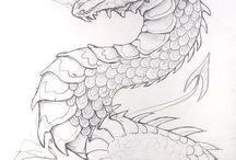 Kuvataide lohikäärme
