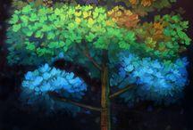 obrazy stromy