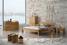 Sypialnia w drewnie - Dream Bedroom / Wyjątkowe meble dębowe do sypialni eksponujące naturalne piękno drewna. Sęki, rozpękania, nieregularność brył - to czyni kolekcję Dream Bedroom naprawdę niepowtarzalną.