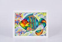 """Ксения Крит / Дизайнер. Фотограф-любитель. Свободный художник.  Вашему взору представляю свои картины, выполненные в технике """"акварель и акварельные карандаши""""."""